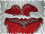 024 - Red with Silver(Turk)XXL- Size